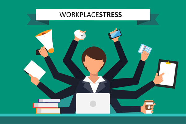 How successful people handle workplace stress